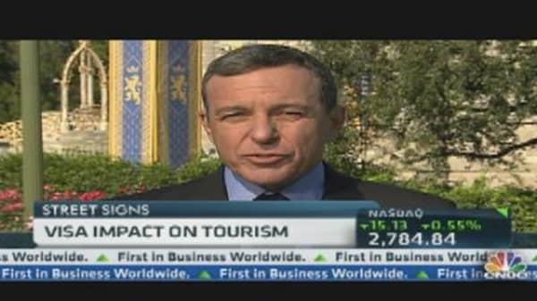 Bob Iger: President Obama's Tourism Plan