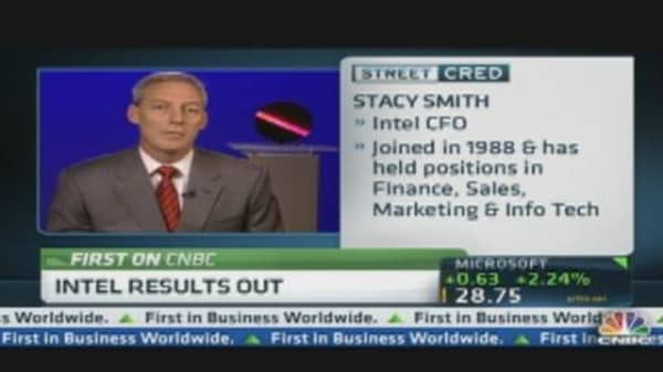 Intel CFO: 2011 Was a Great Year For Us