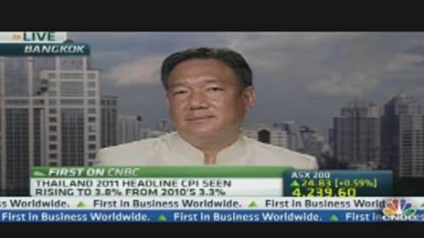 Thailand's Finance Minister Targets 7% Growth in 2012