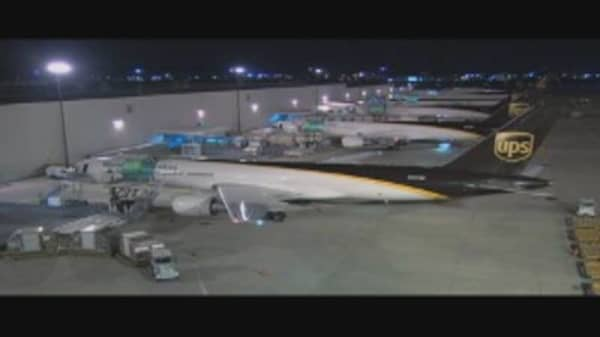 UPS Airlines Cuts Fuel Costs