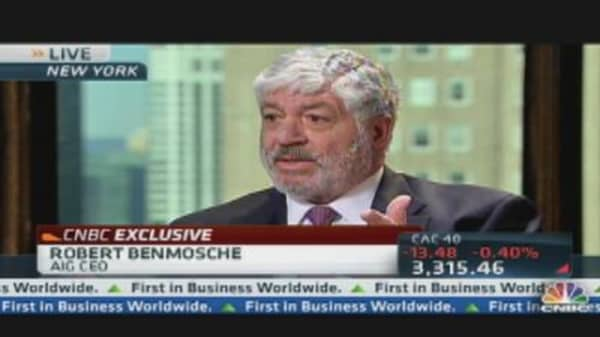 AIG CEO: American Taxpayer is the Shareholder