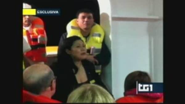 Amateur Video: Confusion on Board the Costa Concordia
