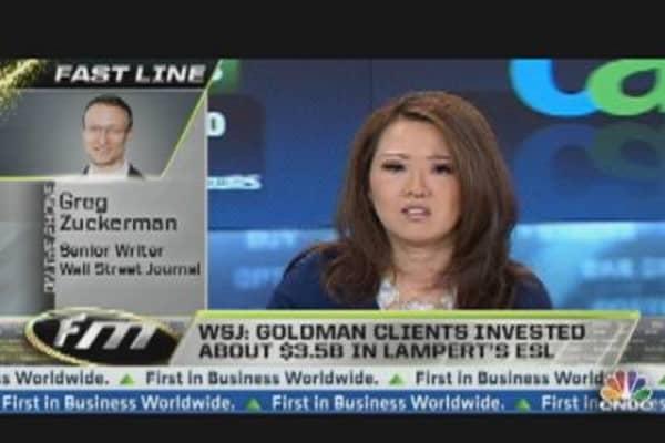 Goldman Hopes Sears Rally Continues