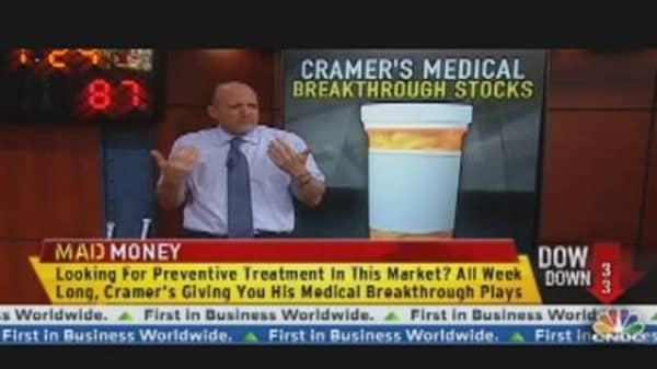 Cramer's Specialty Drug Plays in Big Pharma