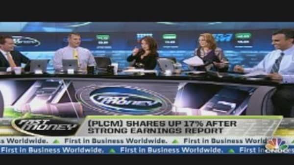 Polycom Surges After Earnings