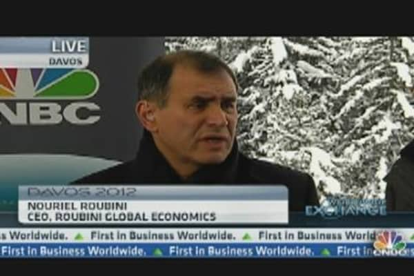Europe Has Fundamental Problems That Can't Be Resolved by the ECB: Roubini