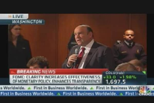 Liesman Asks Bernanke About QE3