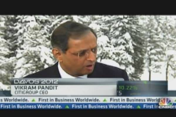 Vikram Pandit on Citi's Expenses