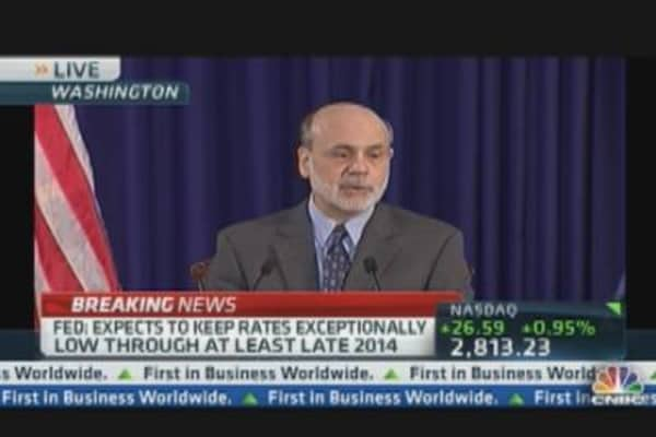Economy Expanding Moderately: Bernanke