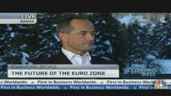 We Are More Positive On the Euro Zone: Societe Generale CEO