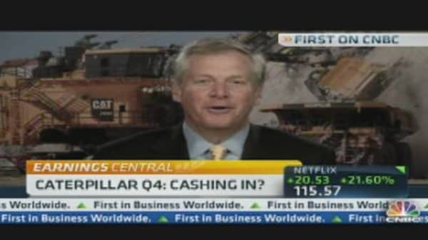 Caterpillar CEO Talks Earnings