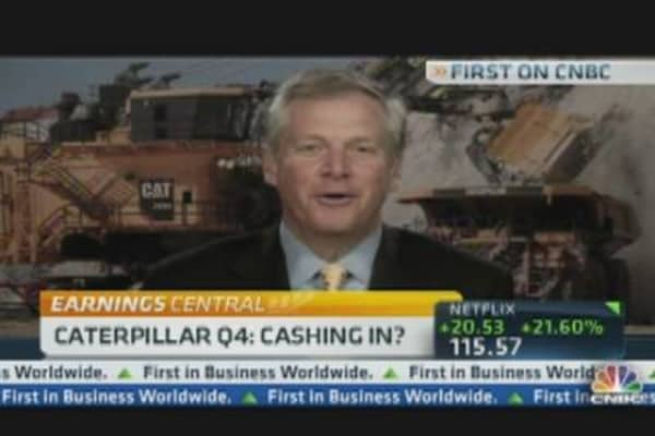 Caterpillar CEO Talks Earnings