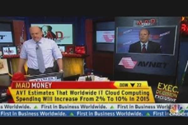 Cramer: Gauging Tech's Outook with Avnet