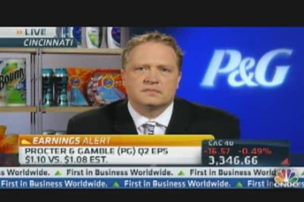 Procter & Gamble CFO on Earnings