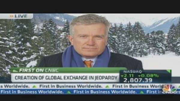 NYSE-Deutsche Borse Merger in Doubt