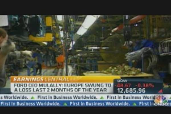 Ford Misses Earnings Estimates