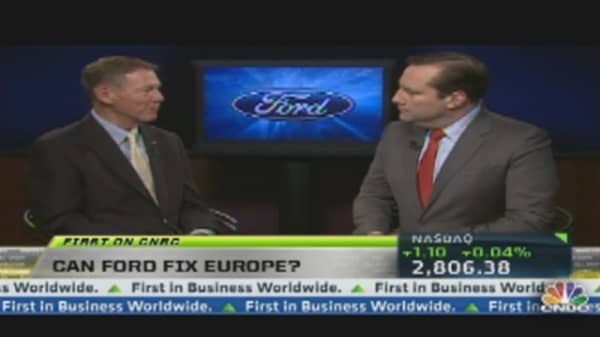 Ford Misses Estimates; Europe to Blame?