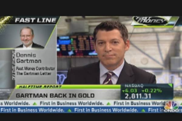 Dennis Gartman Buys Gold