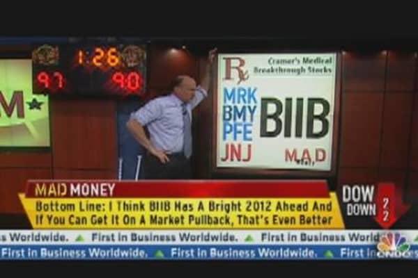 Cramer: Biogen Idec's Profit Pipeline