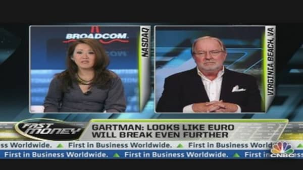 Gartman: Sees Gold Going to 1,800 EUR
