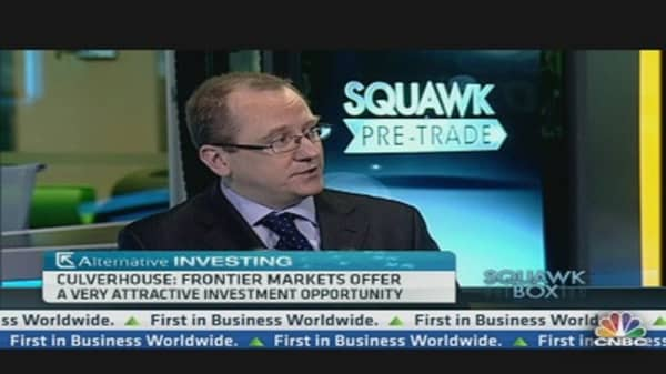 Investor Clinic: Frontier Markets