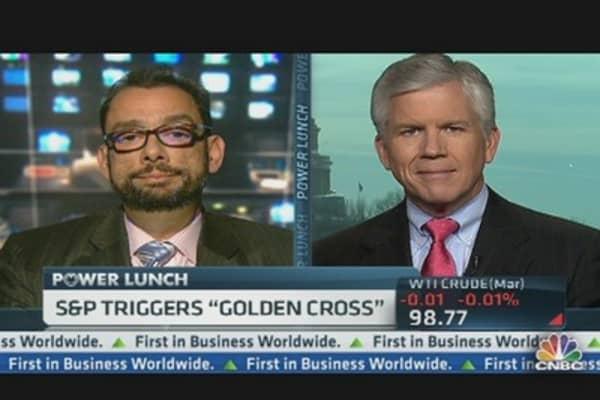 S&P Triggers 'Golden Cross'