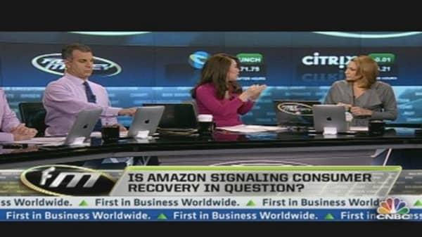 Amazon Q4 Revenues Below Expectations