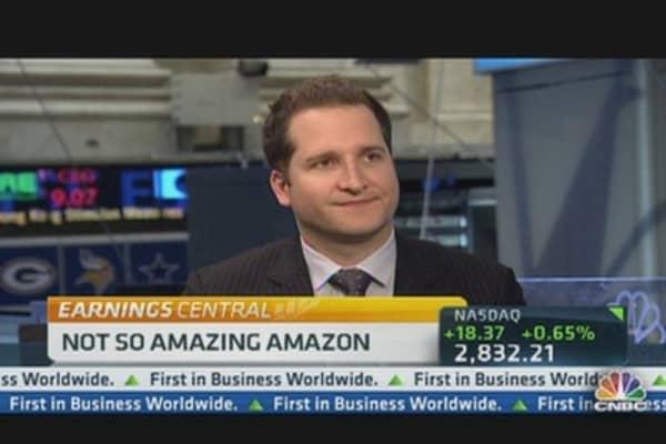 Amazon Shares Down After Q4 Profit Drop