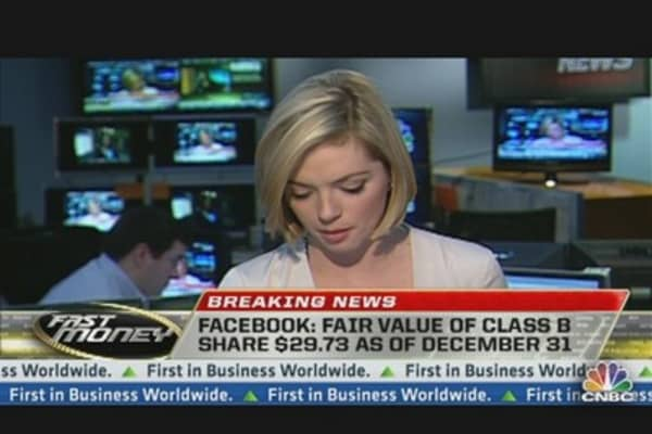 Facebook's S-1 Filing & Executive Pay