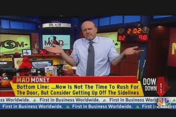 Cramer's Not Buying into Bubble Chatter