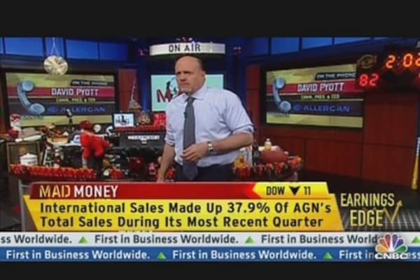 AGN CEO Talks Earnings
