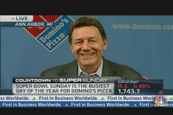 Domino's CEO: Pizza Profits From Super Bowl Sunday