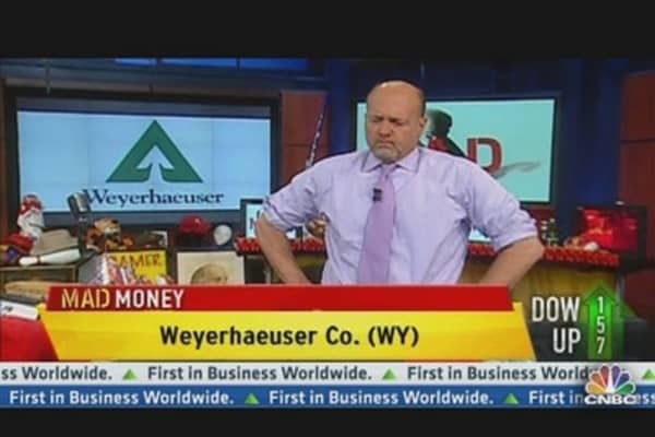 Cramer's Money Tree Stock: Weyerhaeuser