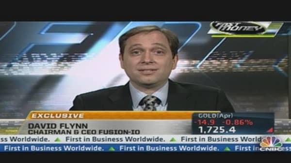 FIO CEO on Dominating Data Storage Market