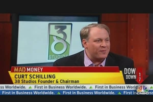 Baseball Great Curt Shilling Has Game