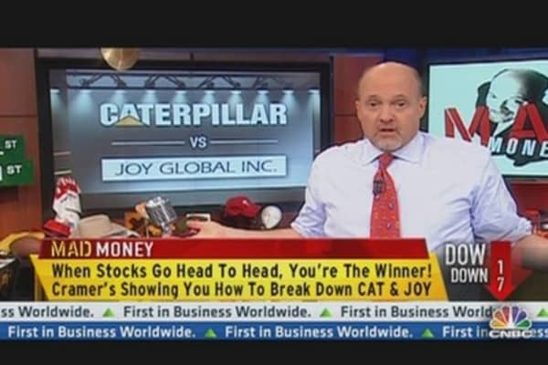 Cramer:  CAT vs. JOY