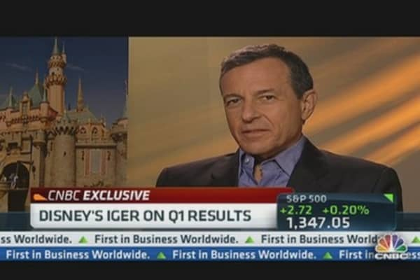 Disney's Iger on Q1 Results