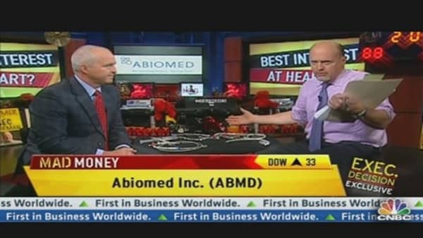 Abiomed CEO on Blowout Earnings