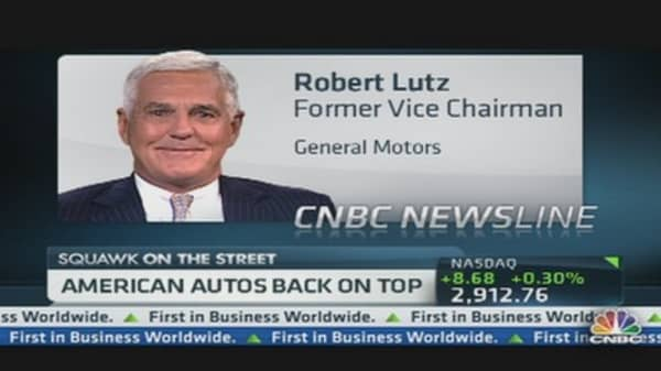 American Autos Back on Top?