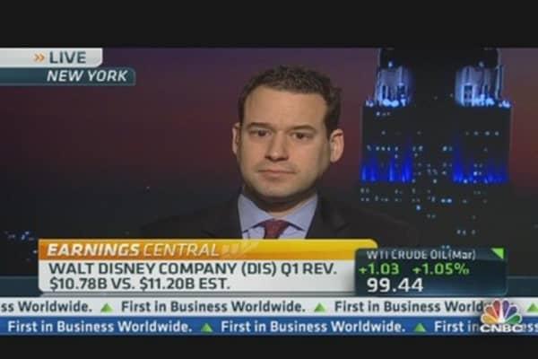 Disney Earnings Beat Street, Revenue Short