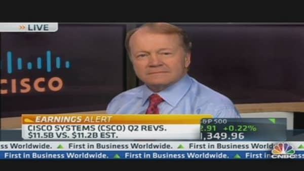 Cisco's Chambers Explains Earnings