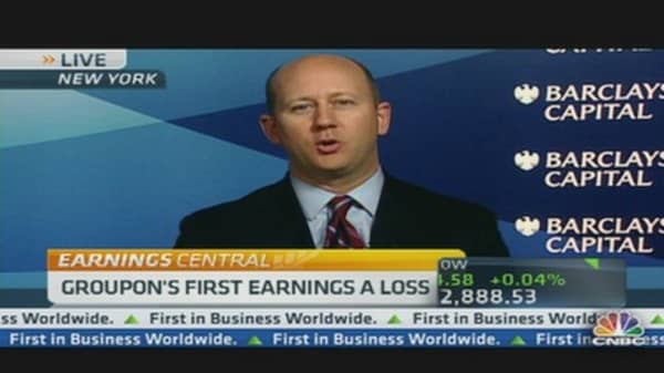 Groupon's Miss on Earnings
