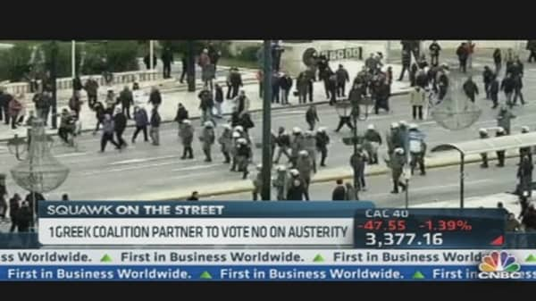 Greek Workers on Strike