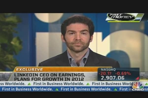 LinkedIn CEO on Blowout Earnings
