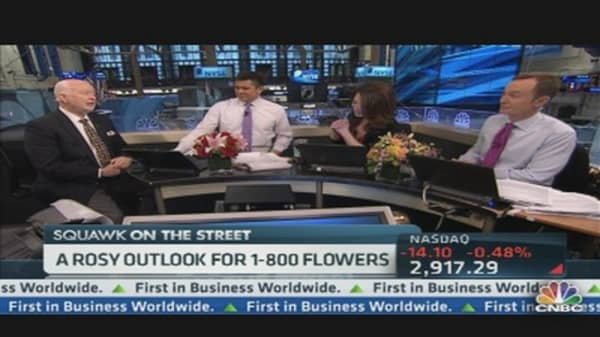 1-800Flowers.com CEO on Valentines Sales