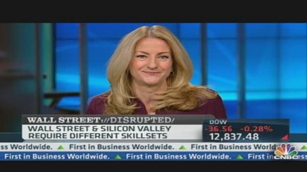 Wall Street Migrating to Silicon Valley?
