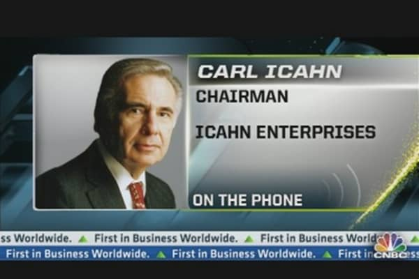 Icahn Wants CVR Energy to Sell