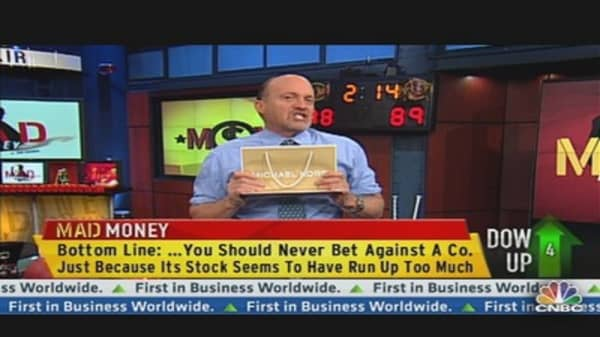Cramer's Memo to Short Sellers