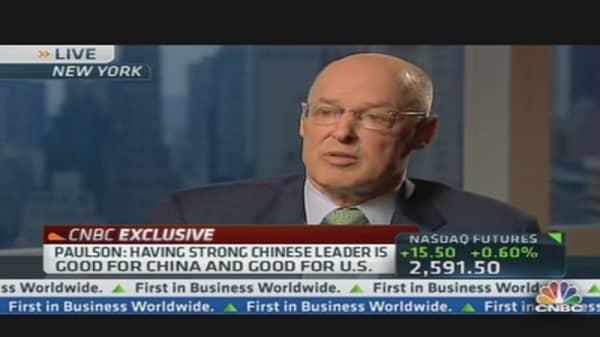 Former Treasury Secretary Paulson on China