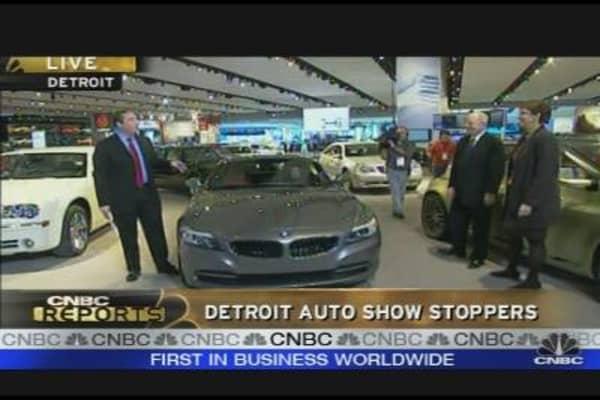 Detroit Auto Show Stoppers